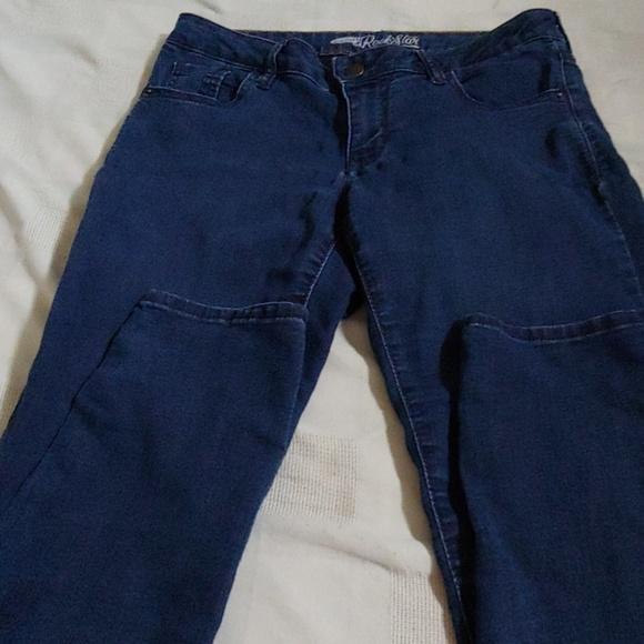 Old Navy Denim - Old Navy rock star skinny leg jeans 10 short